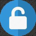 lock-open-blue